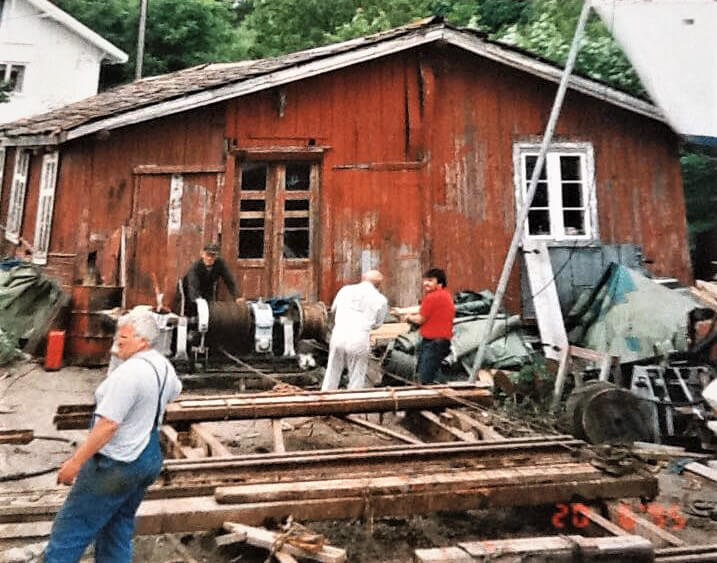 Arbeidslag i 1974