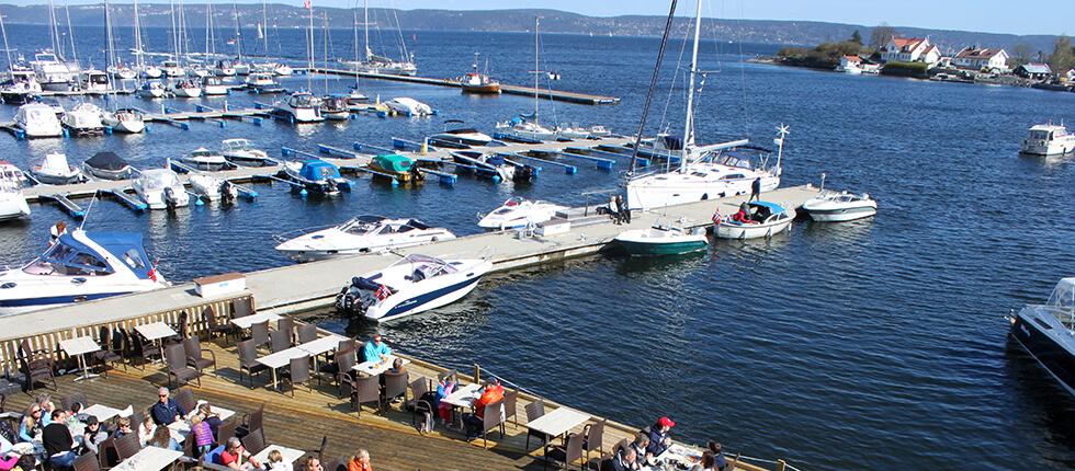 Båtplasser hos Vollen Marina