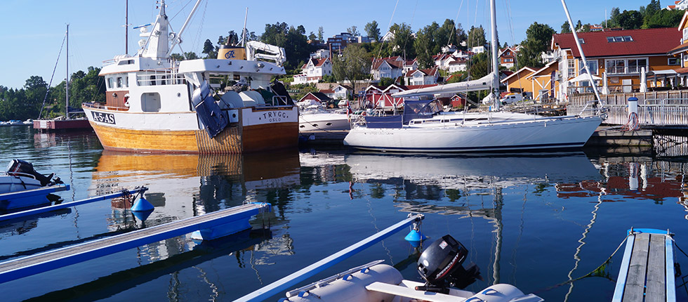 Bryggeplass / Båtplass hos Vollen Marina